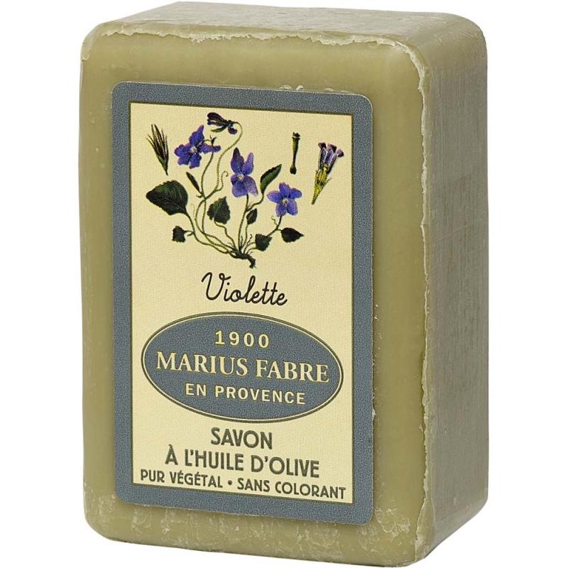 Savonnette Violette à l'huile d'olive