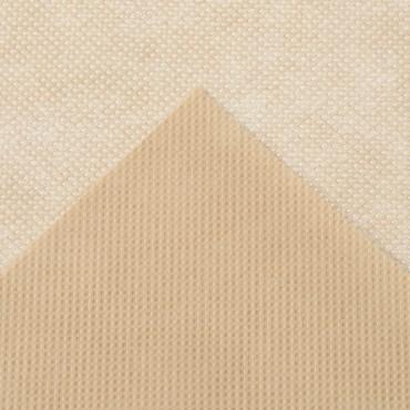 Winterafdekhoes met koord, 50 g/m² - beige