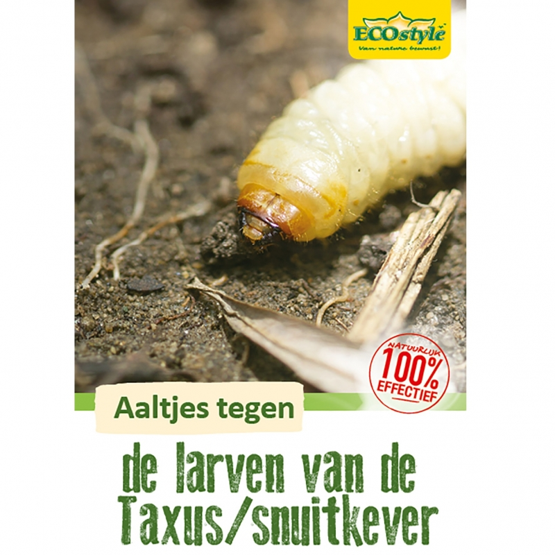 Aaltjes tegen larven taxus- en snuitkever H 250 mln/500 m²