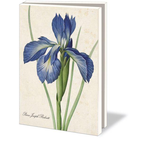 Kaartenmapje Redouté Iris