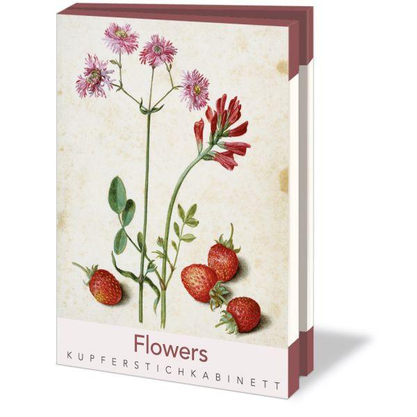 Kaartenmapje Flowers - kupferstichkabinett