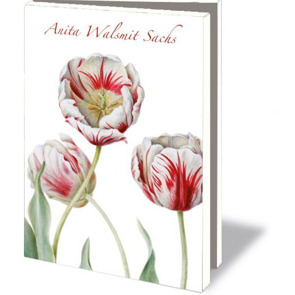 Kaartenmapje Anita Walsmit Sachs 'Plaisir Tulpen'