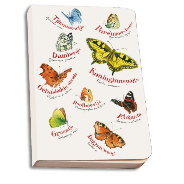 Notebook Softcover Vlinders