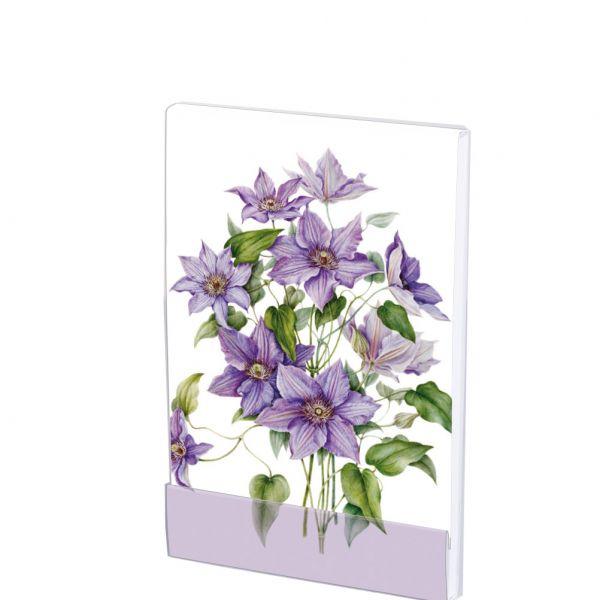 Notepad Botanical Flowers