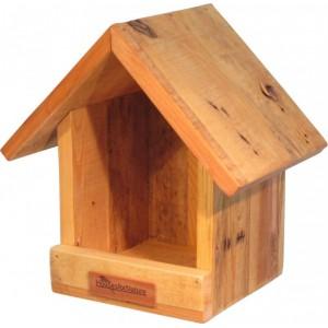 Voederhuis hangend, gerecycled hout
