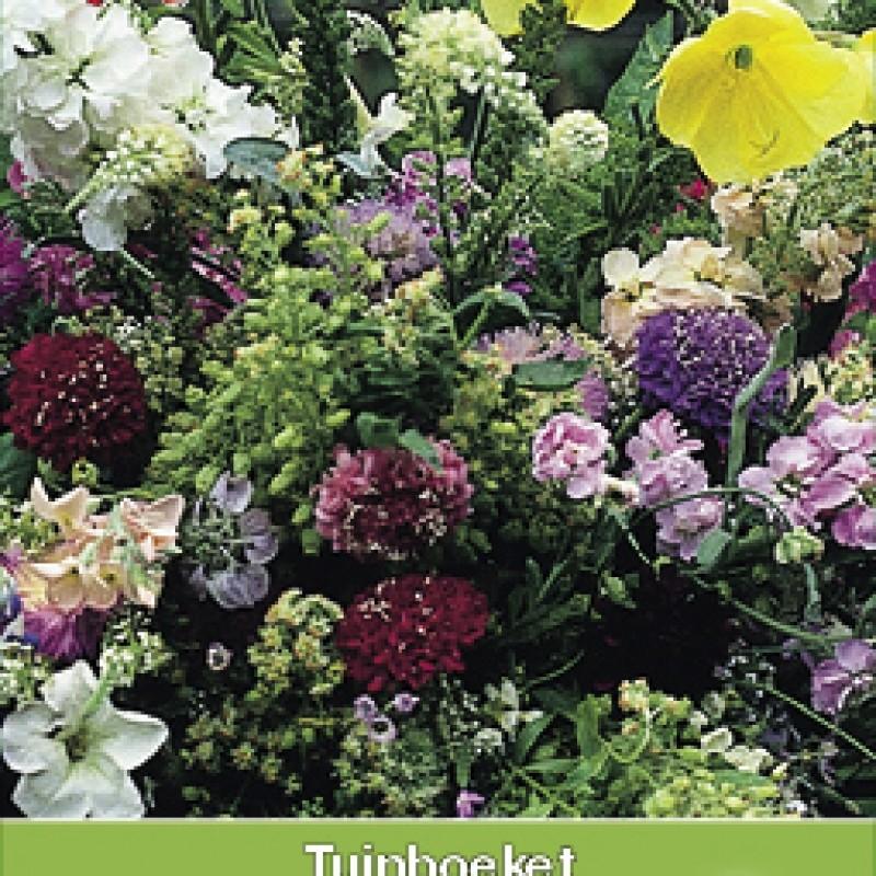 Tuinboeket in geur en kleur