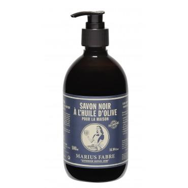 Savon Noir liquide in een handpomp 500 ml